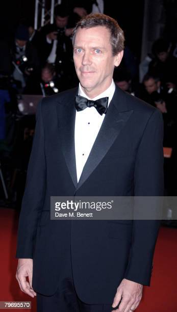 Hugh Laurie arrives at The Orange British Academy Film Awards 2008 at the Royal Opera House on February 10 2008 in London England