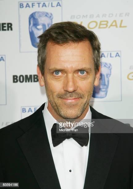 Hugh Laurie arrives to the 17th Annual BAFTA Los Angeles Britannia Awards held at the Hyatt Regency Century City Plaza Hotel on November 6, 2008 in...