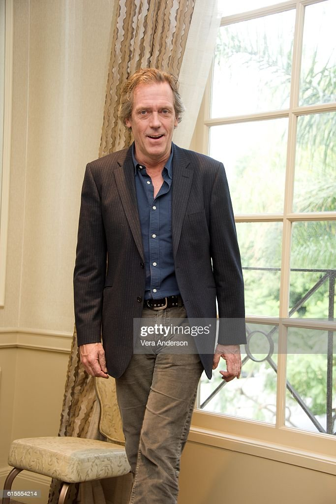 Hugh Laurie at the 'Chance' Press Conference at the Four Seasons Hotel on October 17, 2016 in Beverly Hills, California.