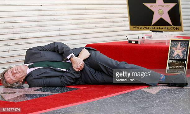 Hugh Laurie attends the ceremony honoring him with a Star on The Hollywood Walk of Fame held on October 25 2016 in Hollywood California
