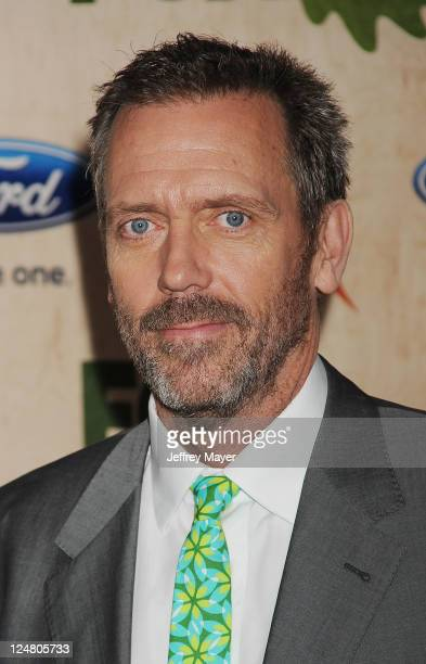Hugh Laurie attends the FOX Fall EcoCasino Party at Book Bindery on September 12 2011 in Culver City California