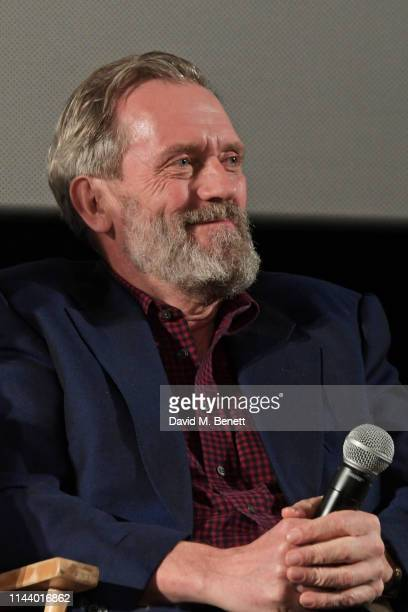 Hugh Laurie attends the London Premiere of new Channel 4 show Catch22 based on Joseph Heller's novel of the same name at Vue Westfield on May 15 2019...