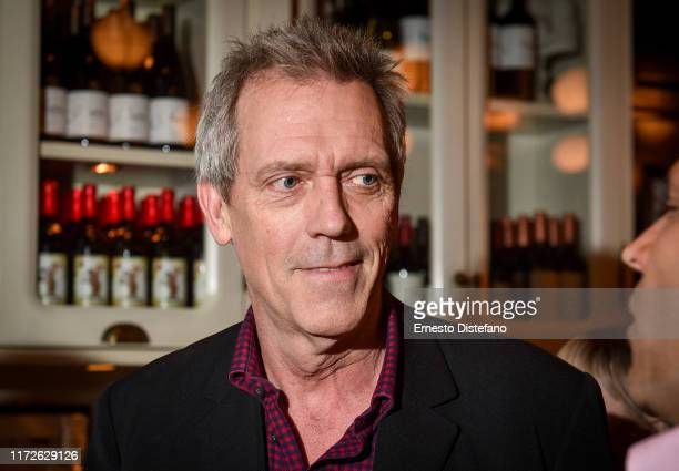 Hugh Laurie attends The Personal History Of David Copperfield World Premiere Party hosted by CÎROC Vodka at Weslodge during the Toronto International...