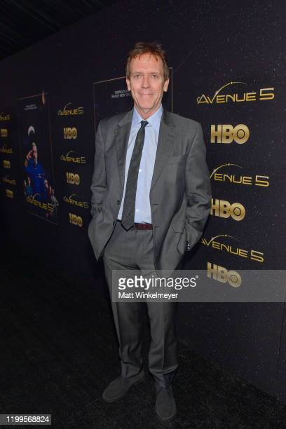 Hugh Laurie attends the premiere of HBO's Avenue 5 at Avalon Theater on January 14 2020 in Los Angeles California