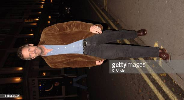 Hugh Laurie during Celebrity Sightings at The Ivy Restaurant in London October 13 2005 at The Ivy Restaurant in London Great Britain