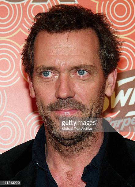 Hugh Laurie during FOX Fall Casino Party Arrivals at Cabana Club in Hollywood CA United States