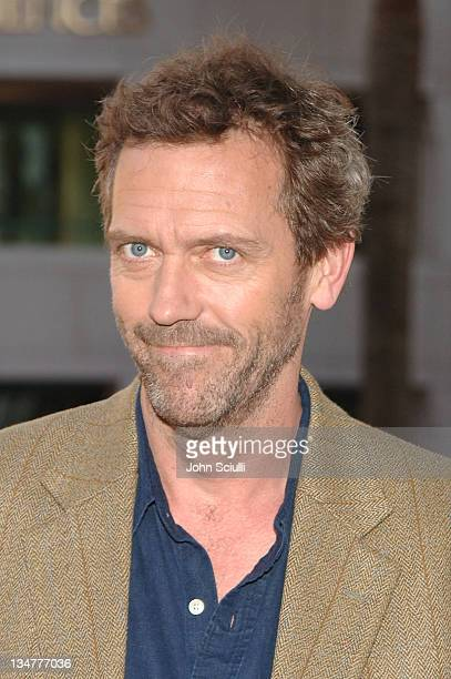 Hugh Laurie during The Academy of Television Arts Sciences Presents An Evening with House Arrivals at Academy of Television Arts Sciences in Los...