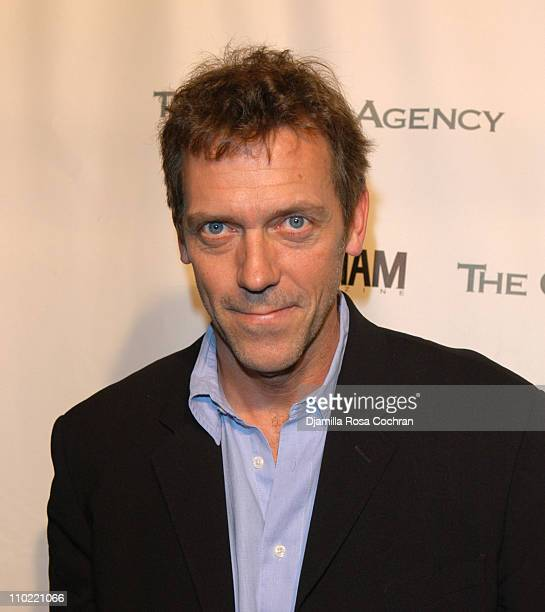 Hugh Laurie during The Gersh Agency and Gotham Magazine Celebrate 2005 New York UpFronts at Bed in New York City New York United States