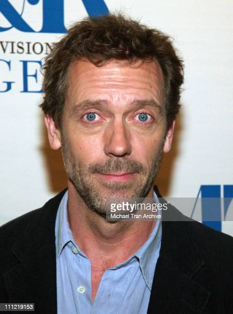 Hugh Laurie during The Museum of Television Radio Presents The TwentyThird Annual William S Paley Television Festival An Evening with House at The...