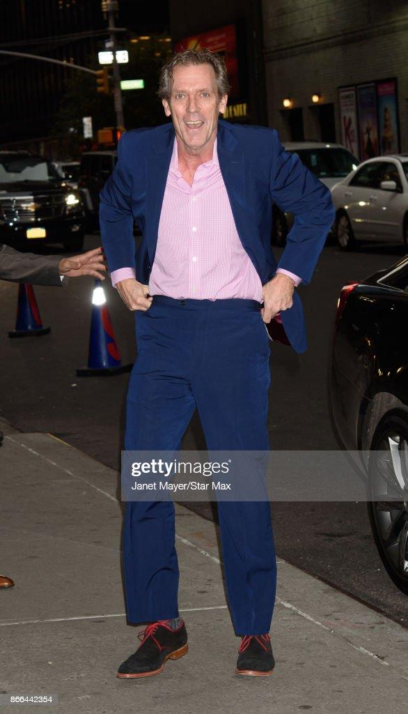 Celebrity Sightings In New York City - October 25, 2017 : News Photo