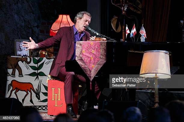 Hugh Laurie performs live on stage on July 20 2014 in Graz Austria