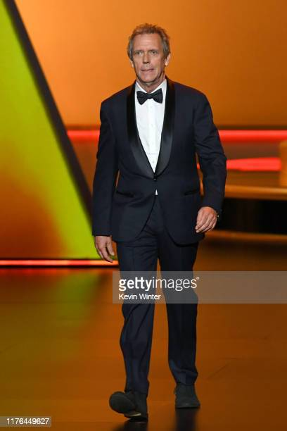Hugh Laurie speaks onstage during the 71st Emmy Awards at Microsoft Theater on September 22 2019 in Los Angeles California