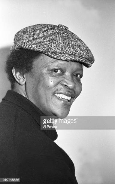 Hugh Masekela appears in a portrait taken on November 17 1989 in New York City