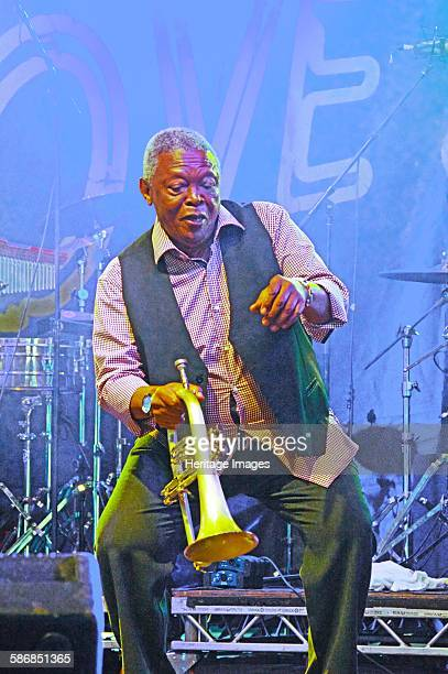 Hugh Masekela Love Supreme Jazz Festival Glynde Place East Sussex 2015 Artist Brian O'Connor
