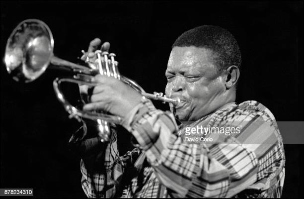 Hugh Masekela performing at SOB's New York 9 July 1998