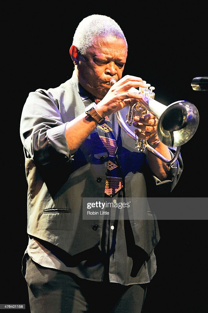 Hugh Masekela Performs At The Barbican