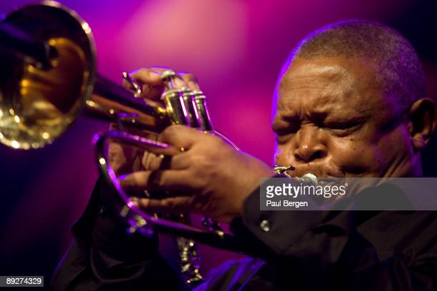 Hugh Masekela performs on stage at The Hague Jazz on May 23rd 2009 in The Hague Netherlands