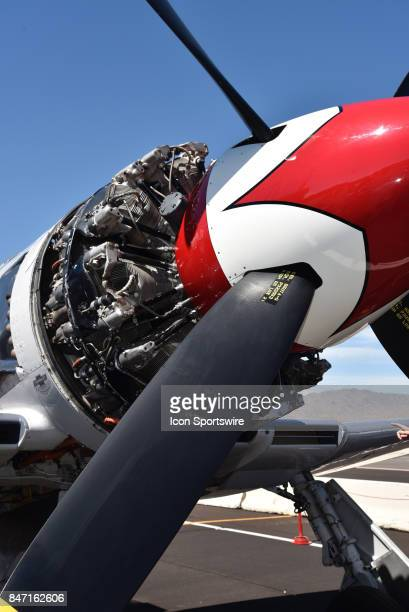 Hugh propellers and massive engines power the entrants in the unlimited racing class at the 54th National Championship Air Races the only closed...