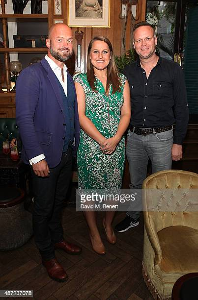 Hugh Robertson Vicky Yorke and Nick Snaith attend Hugh Robertson's North Pole Experience presented by Mr Fogg's of Mayfair in aid of The Prince's...