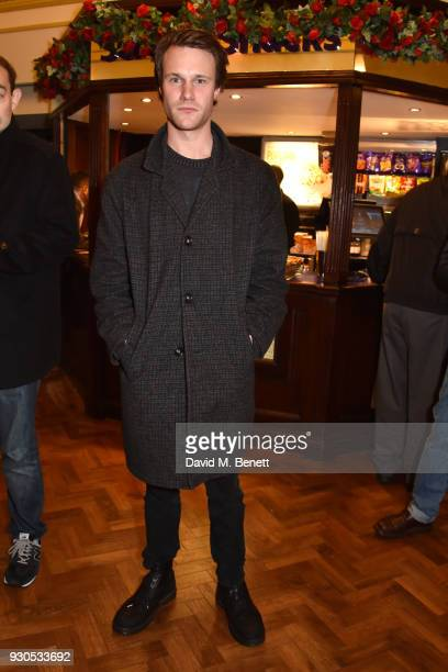 Hugh Skinner attends the press matinee after party for Brief Encounter at The Haymarket Hotel on March 11 2018 in London England