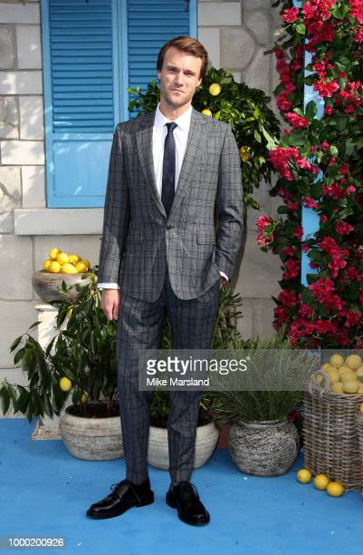 Richard Curtis attends the UK Premiere of 'Mamma Mia Here We Go Again' at Eventim Apollo on July 16 2018 in London England