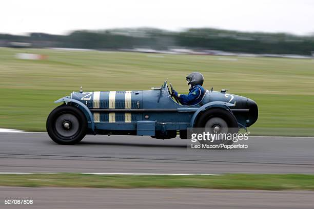 Hugh Taylor in 1923 Alfa Romeo 8C 2300 Monza during the 2007 Goodwood Revival Meeting at Goodwood Motor Racing Track in Sussex England UK