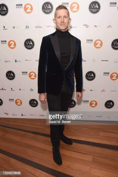Hugh Vanstone attends The WhatsOnStage Awards 2020 at The Prince of Wales Theatre on March 1 2020 in London England