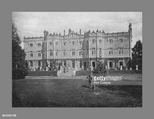 Hughenden Manor c1900 Hughenden Manor is a red brick Victorian mansion located near High Wycombe Buckinghamshire England From Sights and Scenes in...