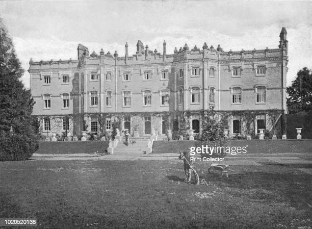 Hughenden Manor', circa 1896. From Pictorial England and Wales. [Cassell and Company, Limited, London, Paris & Melbourne, circa 1896]. Artist JP...