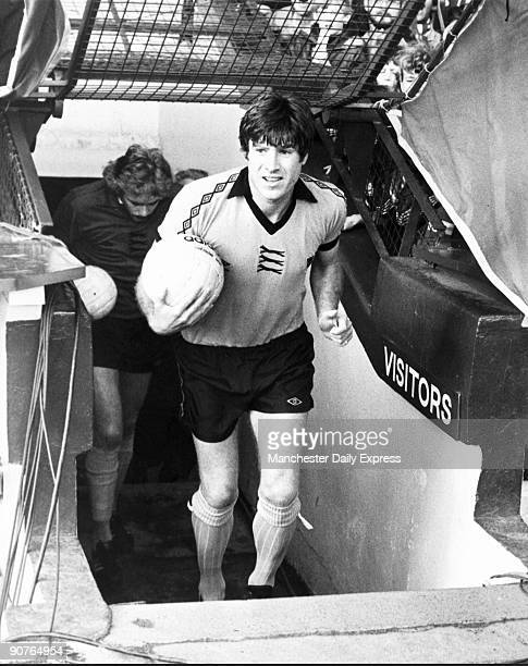 Hughes seen here playing against his old club at Anfield started playing for Liverpool Football Club in 1967 Nicknamed �Crazy Horse� he captained...