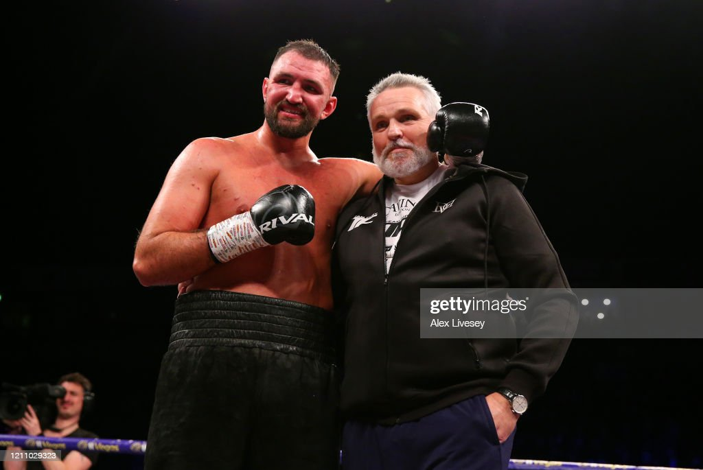 Boxing in Manchester : News Photo