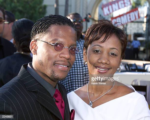 DL Hughley and his wife LaDonna at the premiere screening of 'The Original Kings of Comedy' at the Paramount Theater Paramount studios in Hollywood...