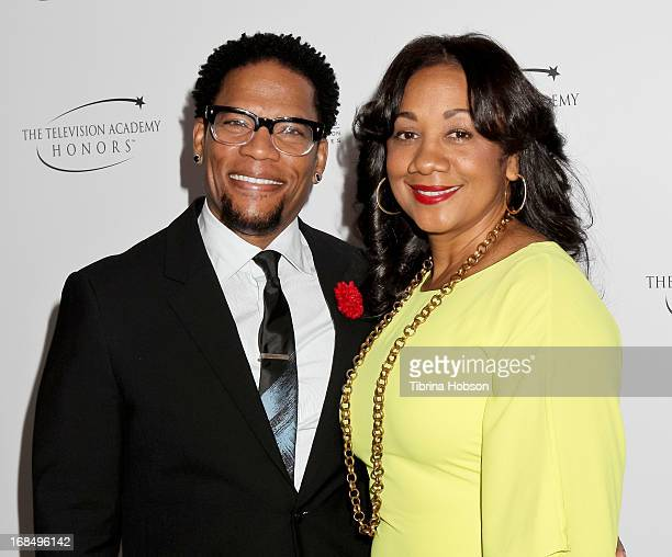 D L Hughley and Ladonna Hughley attend the 6th annual Television Academy Honors at Beverly Hills Hotel on May 9 2013 in Beverly Hills California