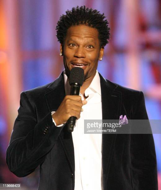 DL Hughley during HBO AEG Live's 'The Comedy Festival' Comic Relief 2006 Show at Caesars Palace in Las Vegas Nevada United States