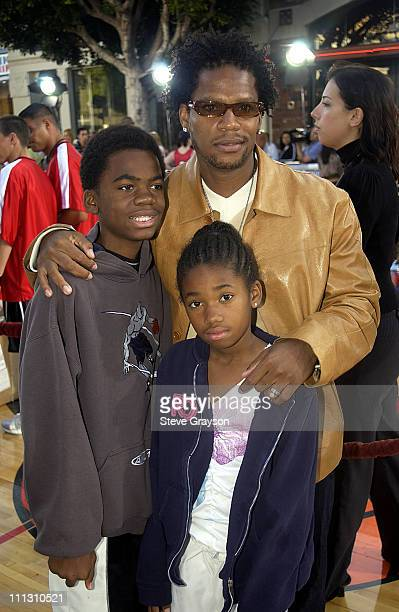 DL Hughley family during 'Like Mike' Premiere at Bruin Westwood in Westwood California United States
