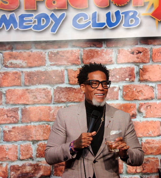 NJ: D.L. Hughley Performs At The Stress Factory Comedy Club