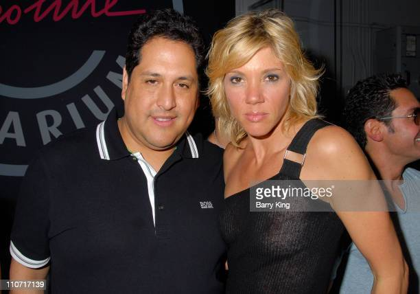 Hugo Boss's Hector Monserratte and television personality Jackie Warner at Tan for a Cause celebrity mixer event hosted by Jackie Warner of Bravo's...