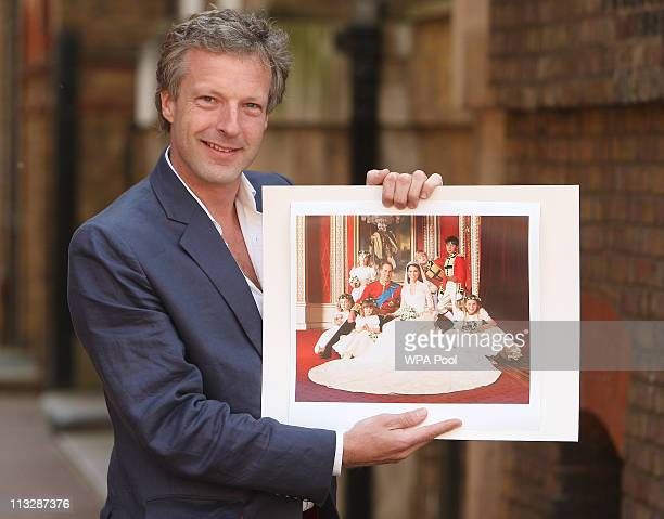 Hugo Burnand the official wedding photographer for the wedding of Their Royal Highnesses Prince William Duke of Cambridge and Catherine Duchess of...