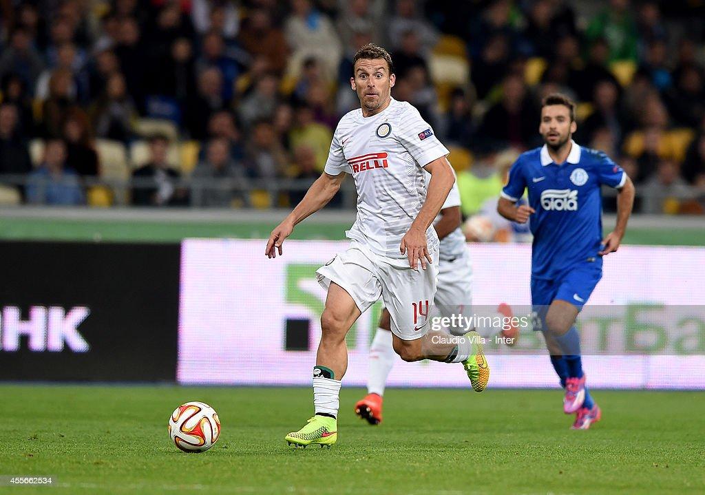 FC Dnipro Dnipropetrovsk v FC Internazionale Milano - UEFA Europa League