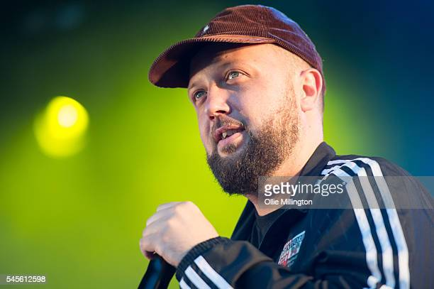 Hugo Chegwin performs in character as Kevin 'DJ Beats' Bates of Kurupt FM from the hit BBC British Garage music Comedy The people just do nothing...