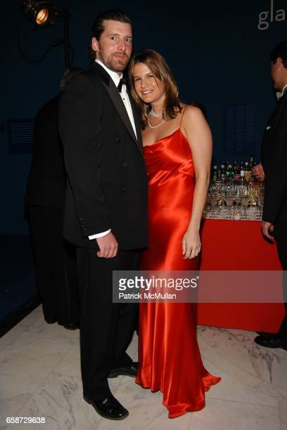Hugo Denbeck and Christina Floyd attend The Winter Ball hosted by the Director's Council of the Museum of the City of New York at the Museum of the...