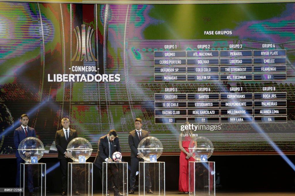 Copa Conmebol Libertadores and Sudamericana 2018 Official Draw