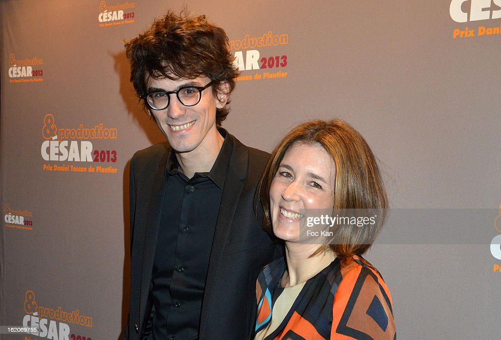 Hugo Gelin and Laetitia Galitzine attend the Producer's Dinner - Cesar Film Awards 2013 at Georges V on February 18, 2013 in Paris, France.