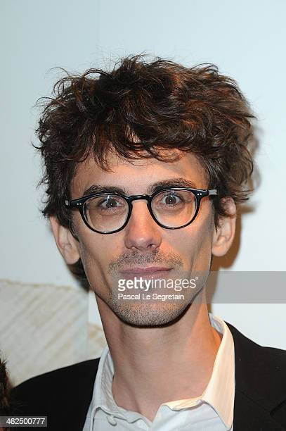 Hugo Gelin attends the 'Cesar Revelations 2014' Cocktail Party and Dinner at Salons Chaumet on January 13 2014 in Paris France