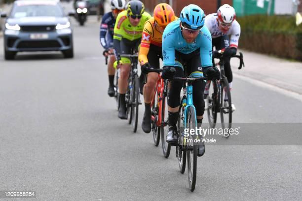 Hugo Houle of Canada and Astana Pro Team / Breakaway / during the 72nd Kuurne-Brussel-Kuurne 2020 a 201km race from Kuurne to Kuurne / #KBK20 /...