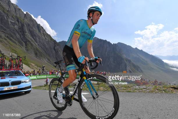 Hugo Houle of Canada and Astana Pro Team / Col de Tourmalet / Mountains / Fans / Public / during the 106th Tour de France 2019, Stage 14 a 117km...