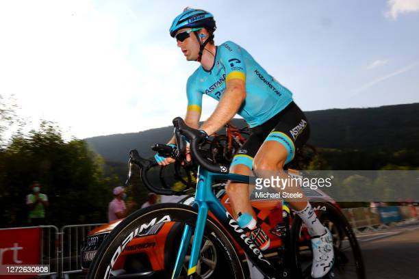 Hugo Houle of Canada and Astana Pro Team / during the 107th Tour de France 2020, Stage 16 a 164km stage from La Tour-Du-Pin to Villard-De-Lans 1152m...