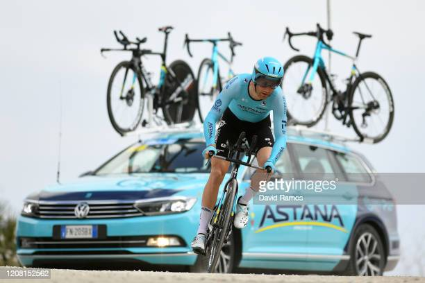 Hugo Houle of Canada and Astana Pro Team / during the 66th Vuelta a Andalucía - Ruta del Sol 2020, Stage 5 a 13km Individual Time Trial from Mijas to...
