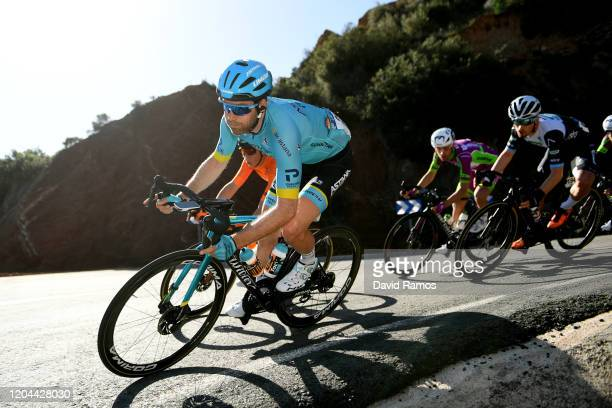 Hugo Houle of Canada and Astana Pro Team / during the 71st Volta a la Comunitat Valenciana 2020, Stage 2 a 181km stage from Torrent to Cullera 181m /...