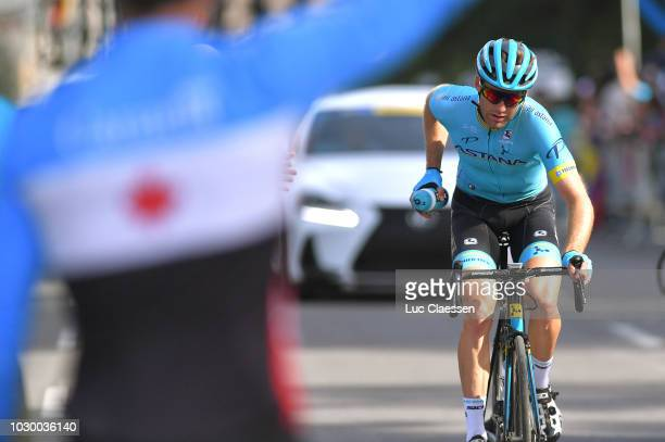 Hugo Houle of Canada and Astana Pro Team / during the 9th Grand Prix Cycliste de Montreal 2018 a 1952km race from Montreal to Montreal 79m / GPCQM /...